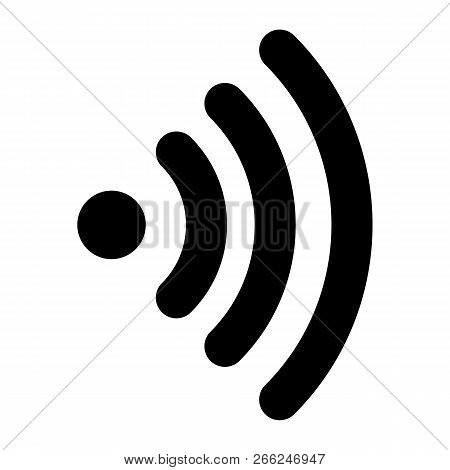 Wifi Icon. Outline Wifi Vector Icon For Web Design Isolated On White Background
