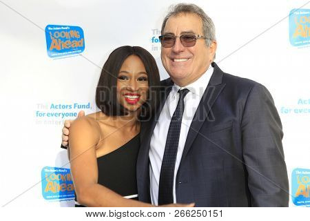 LOS ANGELES - OCT 28:  Monique Coleman, Kenny Ortega at the 2018 Looking Ahead Awards at the Taglyan Cultural Complex on October 28, 2018 in Los Angeles, CA