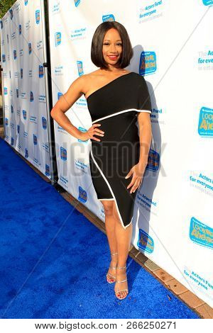 LOS ANGELES - OCT 28:  Monique Coleman at the 2018 Looking Ahead Awards at the Taglyan Cultural Complex on October 28, 2018 in Los Angeles, CA