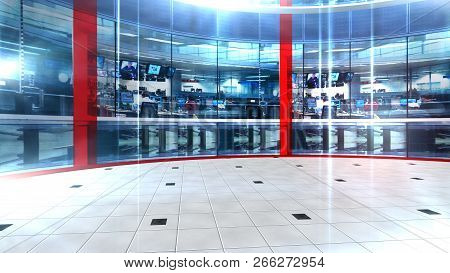 3d Rendering Virtual Set Studio For Chroma Footage Realize Your Vision For A Professional-looking St