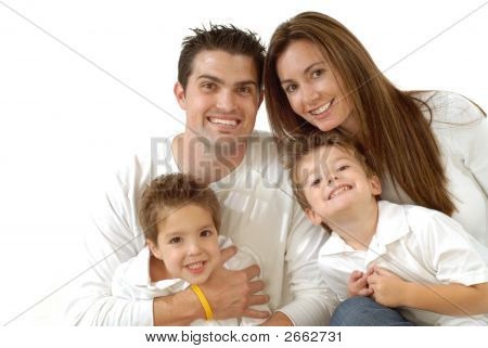 Happy Family Portrait