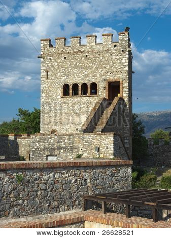 castle of Butrint an ancient city in Albania, close to the greek border