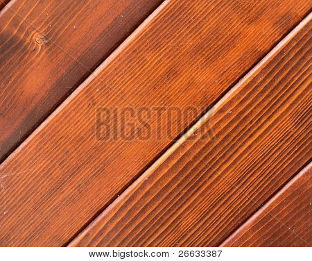 Detail of wooden planks texture