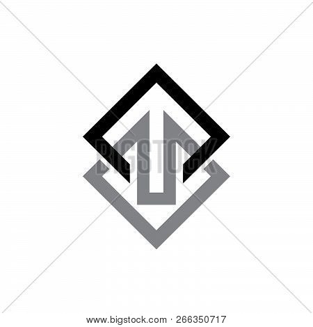 Abstract Square Shape Logo. Vector Abstract Logo. Abstract Design Element. Modern Logo. Design Eleme