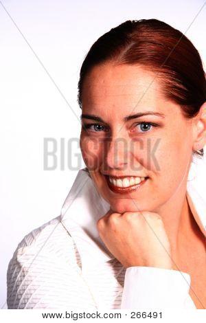 Corporate Lächelnde Frau