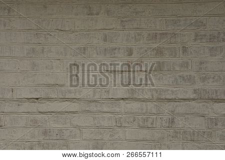 Gray Stone Texture Of Bricks In The Wall Of The House