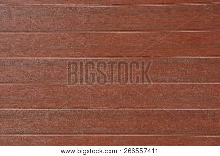Brown Wooden Planks Texture In The Wall