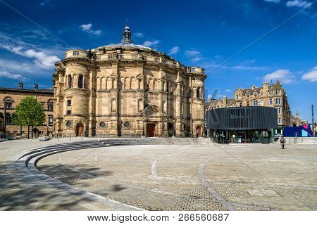 Edinburgh, Scotland - May 19: Mcewan Hall, The University Of Edinburgh On May 18, 2019 In Edinburgh