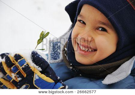 kid snow