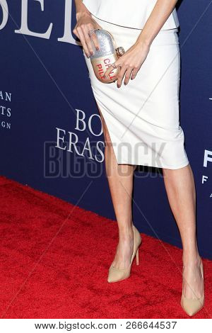 WEST HOLLYWOOD - OCT 29: Blanca Blanco, purse detail, shoe detail at the Premiere of Boy Erased at the Directors Guild of America on October 29, 2016 in West Hollywood, California