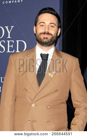 WEST HOLLYWOOD - OCT 29: Garrard Conley arriving at the Premiere of Boy Erased at the Directors Guild of America on October 29, 2016 in West Hollywood, California