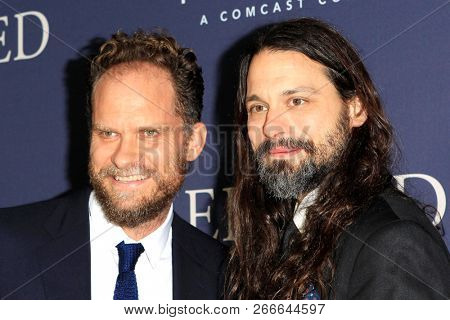 WEST HOLLYWOOD - OCT 29: Danny Bensi, Saunder Jurriaans arriving at the Premiere of Boy Erased at the Directors Guild of America on October 29, 2016 in West Hollywood, California