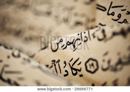 Old arabic scripts, Koran