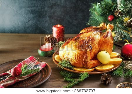 Christmas Chicken Or Turkey
