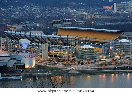 PITTSBURGH  - DECEMBER 4: Heinz Field is the home of the Pittsburgh Steelers, an American Professional NFL team in Pittsburgh, Pennsylvania December 4, 2010.
