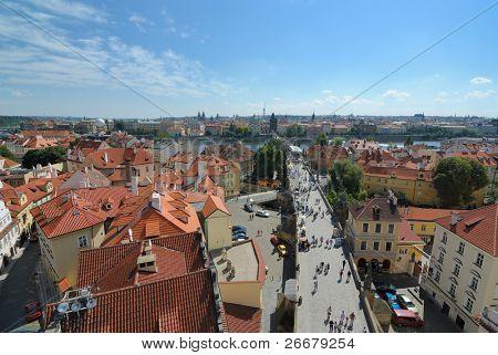 Roofline in Praque, Czech Republic.