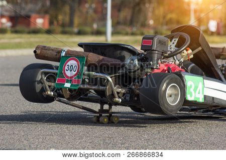 Participants Customize And Adjust Kart For Karting Competitions, Auto Sports, Karting Competitions,