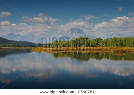 Reflections In The Oxbow Bend