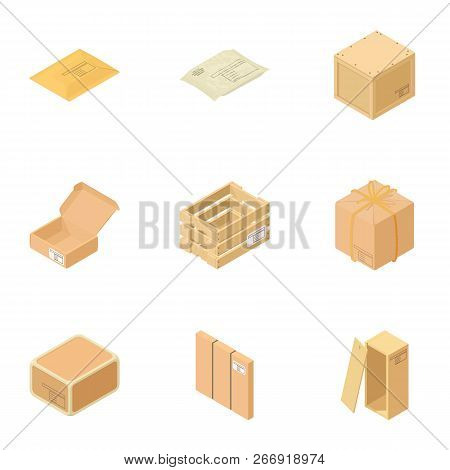 Conduit Icons Set. Isometric Set Of 9 Conduit Vector Icons For Web Isolated On White Background