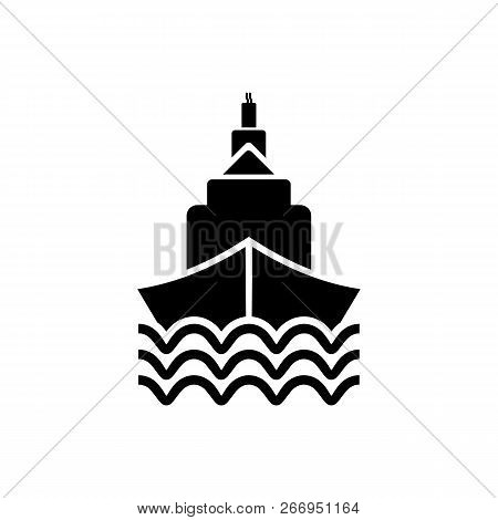 Ship Icon Isolated On White Background. Ship Icon In Trendy Design Style. Ship Vector Icon Modern An