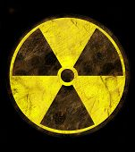 SIgn of radiation poster