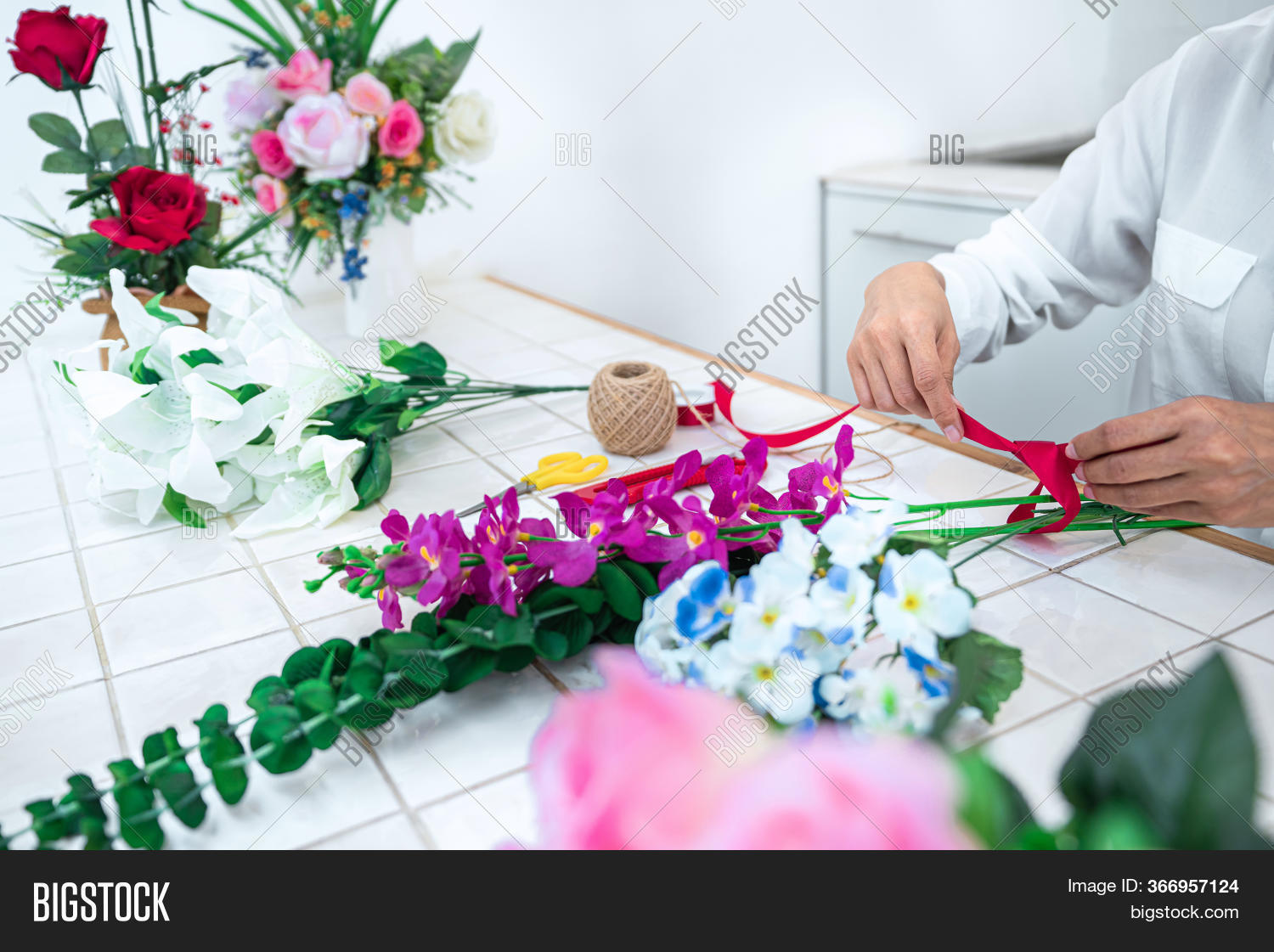 Arranging Artificial Image Photo Free Trial Bigstock