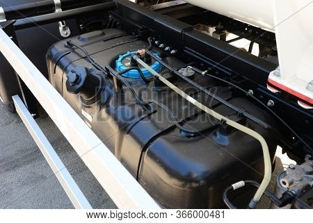 Replacement Of Car Parts: Plastic Auto Fuel, Petrol, Gasoline Tank, Diesel Tank Of A Truck.