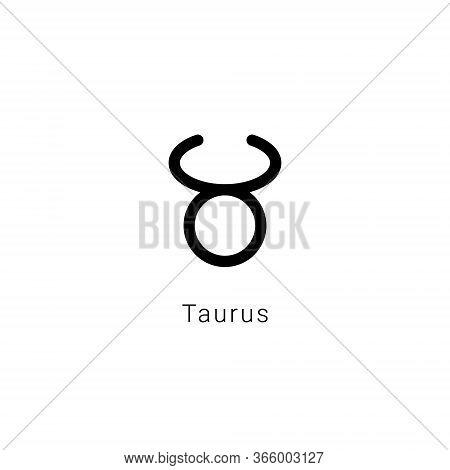 Sign Of The Zodiac. Taurus, The Bull