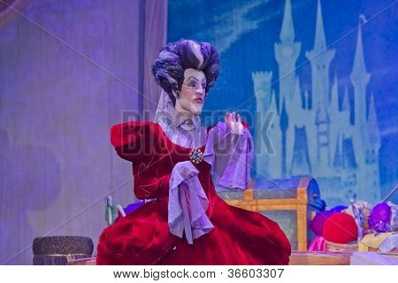 Cinderella's Mean Wicked Stepmother