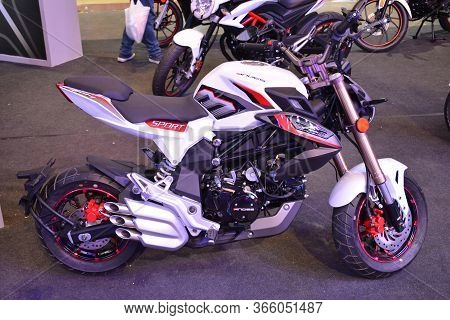 Pasay, Ph - Mar 24 - Andes Sport Motorcycle At Inside Racing Motor Bike Festival And Trade Show On M