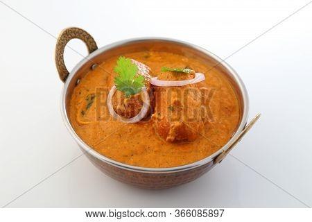 Indian Food Specialties. Indian Dish- Malai Kofta Or Veg Kofta.