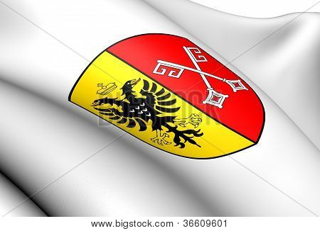 Minden Coat Of Arms, Germany.