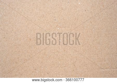 Cardboard Texture Top View. Brown Paper Background Closeup. Paper Texture Brown Sheet Absrtact Backg
