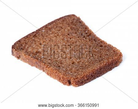 Single sliced loaf of bread isolated over white background