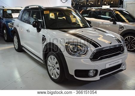 Taguig, Ph - July 13 - Mini Countryman On July 13, 2019 In Bonifacio Global City, Taguig, Philippine