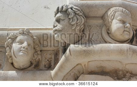 Renaissance Portraits In Stone - Sibenik Cathedral