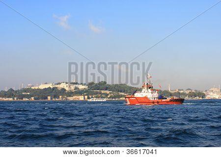 Firefighter ship