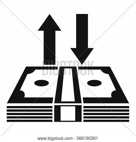 Refund Deposit Money Icon. Simple Illustration Of Refund Deposit Money Vector Icon For Web Design Is