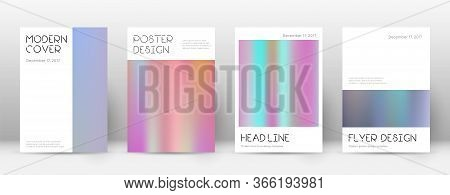 Flyer Layout. Minimal Uncommon Template For Brochure, Annual Report, Magazine, Poster, Corporate Pre