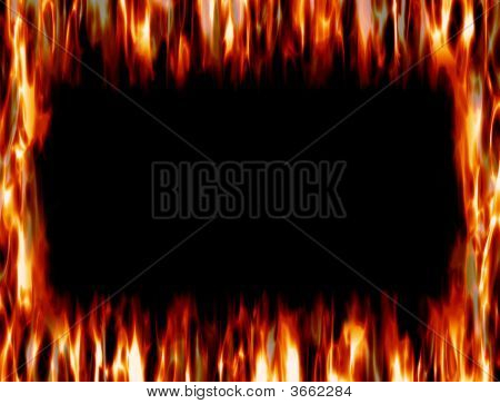 Frame Of Fire And Flame