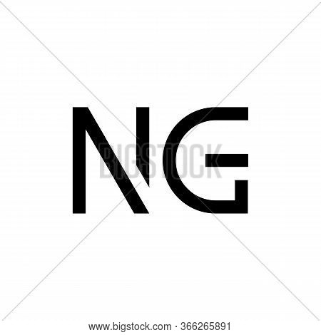 Initial Letter Ng Logo Design Vector Template. Creative Abstract Ng Letter Logo Design