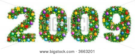 Christmas Tree Decoration - Year 2009