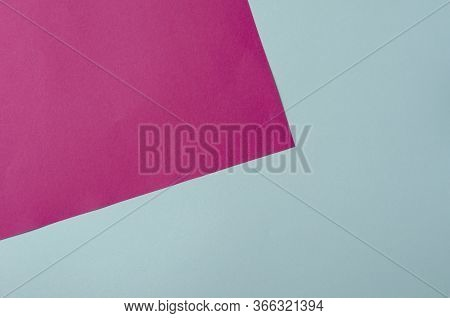 Two-tone Geometric Background In Pastel Colors.