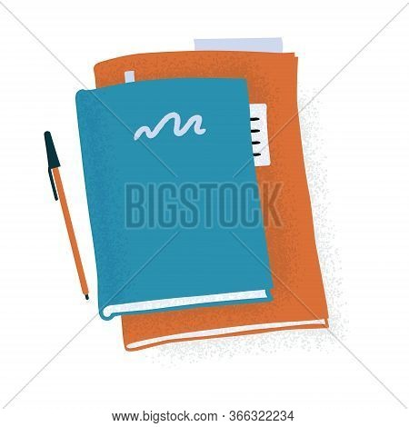 Large Notebook, Standard Planner, Reading Book And Pen, Writing Therapy, Morning Pages, Daily Report