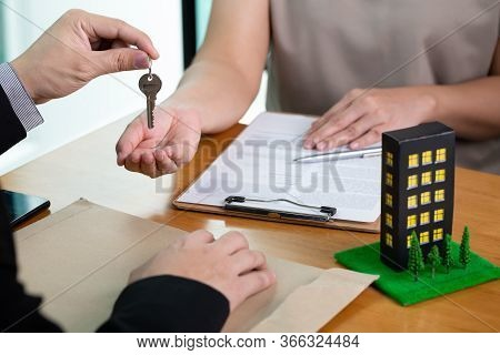 Banks Approve Loans To Buy Condominium. Home And Real Estate Concept
