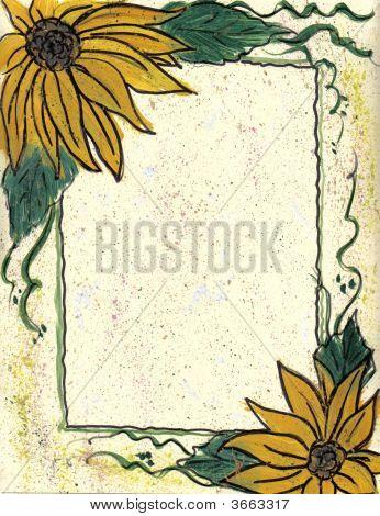 Border Sunflowers