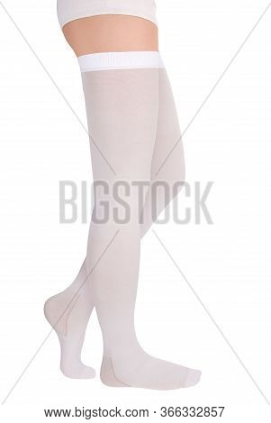 Closed Toe Stockings. Compression Hosiery. Medical Stockings, Tights, Socks, Calves And Sleeves For