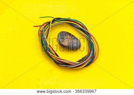 Copper Wire, Conductor Of Electricity