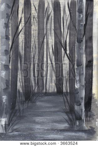 Painting Dark Passage