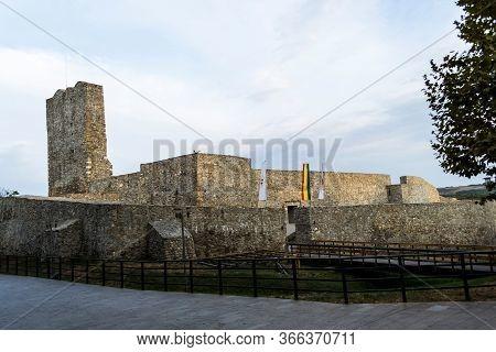 Ruins Of Medieval Fortress, Drobeta Turnu Severin, Romania.